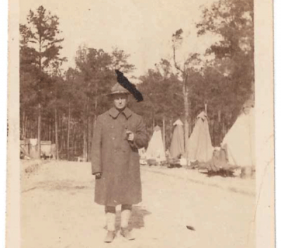 Letter from Manford E. Cox to his wife, Harriet Patton Cox (Nov. 2, 1918)